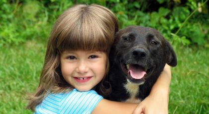 Ζώα συντροφιάς: το καλύτερο φάρμακο για άρρωστα παιδιά