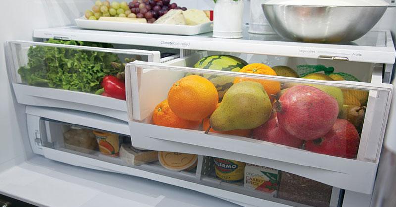 Πώς θα αποθηκεύσετε σωστά τα φρούτα και τα λαχανικά;