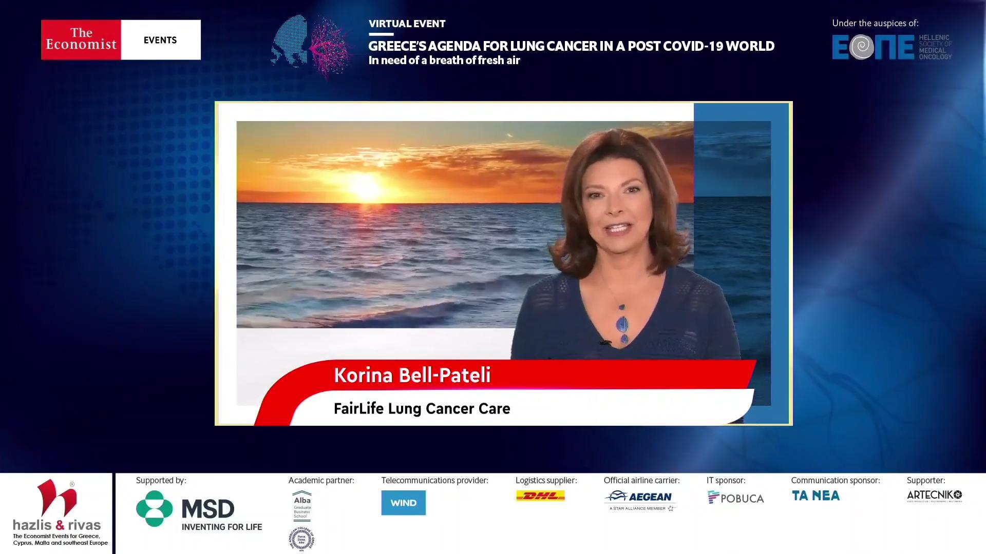 Κορίνα Πατέλη-Bell: Μπορούμε σήμερα να ανοίξουμε μια ουσιαστική συζήτηση για τον καρκίνο του πνεύμονα στην Ελλάδα