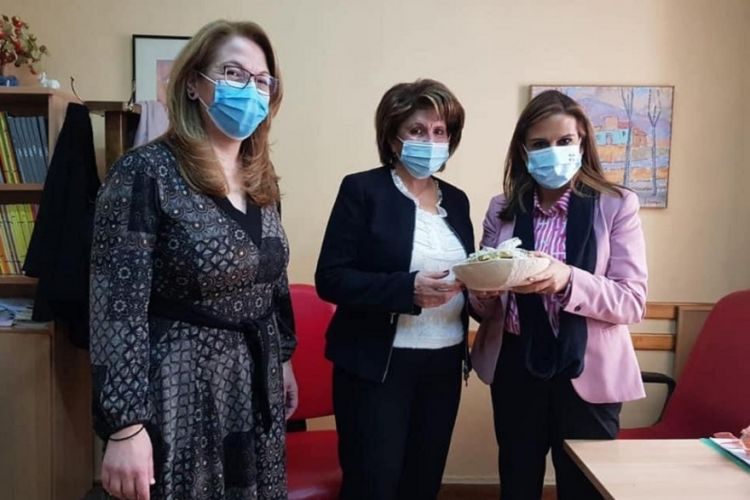Επίσκεψη της υφυπουργού Υγείας Ζωής Ράπτη στη Μονάδα Απεξάρτησης 18 ΑΝΩ.