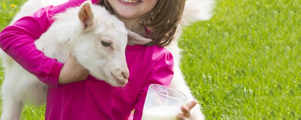 Το κατσικίσιο γάλα στη διατροφή των παιδιών