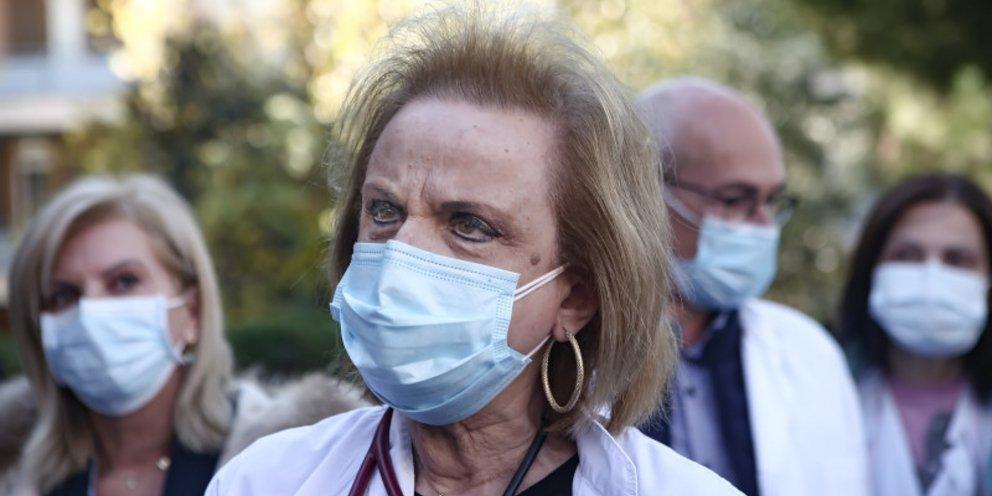 Δηλώσεις σοκ από Μ.Παγώνη:  Άφησε να εννοηθεί ότι το 40% των νοσηλευόμενων είναι εμβολιασμένοι!
