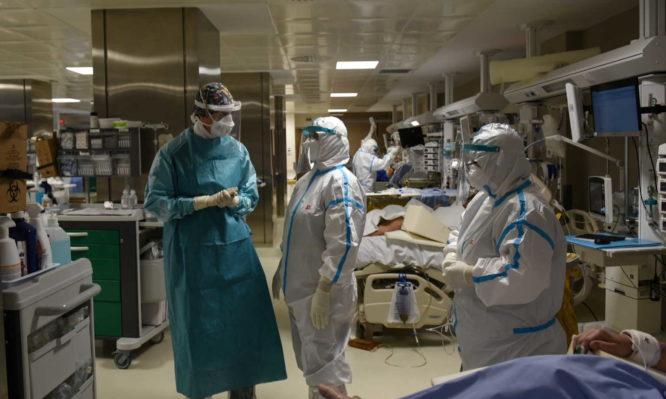 COVID-19: 1.262 νέα κρούσματα -50 θάνατοι – 656 σε ΜΕΘ