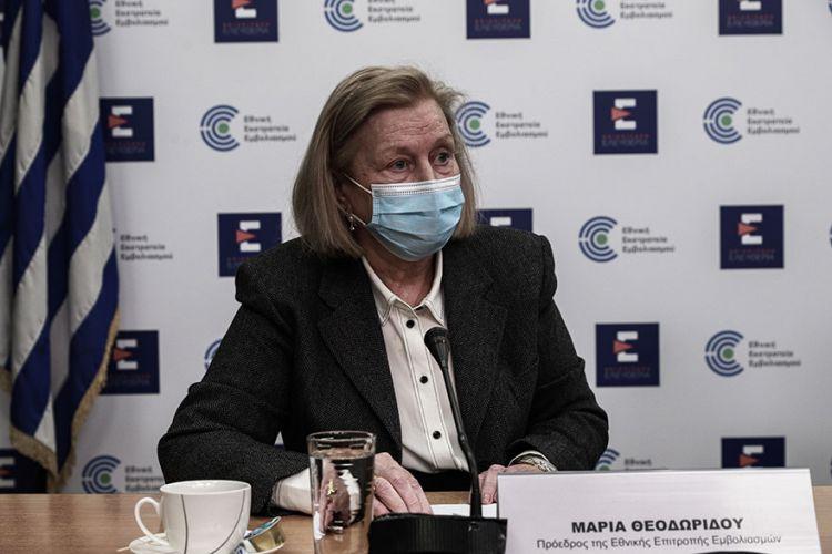 Μ. Θεοδωρίδου: Μία δόση εμβολίου σε όσους έχουν νοσήσει από κορωνοϊό