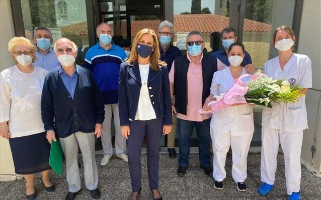 Στο «Δρομοκαΐτειο» για την Παγκόσμια Ημέρα Νοσηλευτή η Ζ. Ράπτη