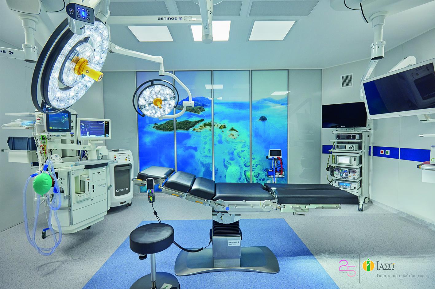 ΙΑΣΩ: Η πρώτη στην Ελλάδα υπερσύγχρονη ψηφιακή χειρουργική αίθουσα Modular Τοιχοποιίας