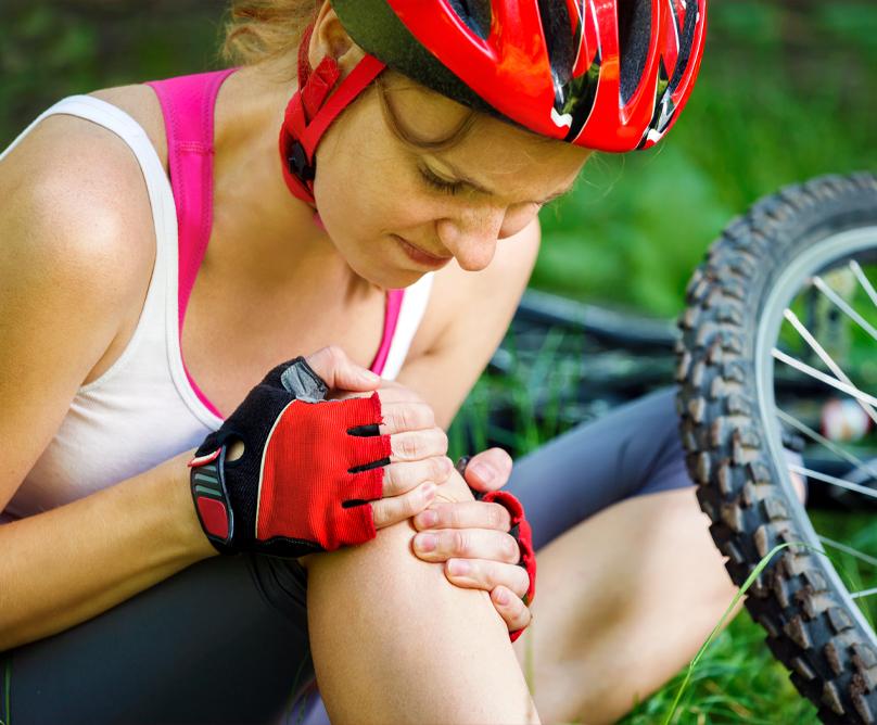 Ποδηλασία και συνήθεις τραυματισμοί – Αντιμετώπιση