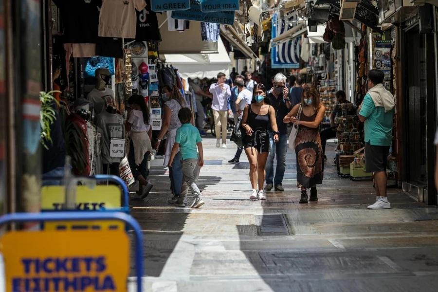 Γεωγραφική κατανομή: 1.266 κρούσματα στην Αττική- 255 στην Κρήτη -236 στη Θεσσαλονίκη