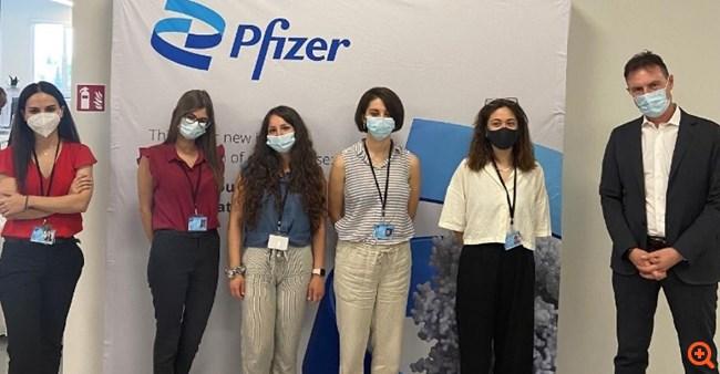 Pfizer – ΑΠΘ: Συνεργασία για την απασχόληση νέων επιστημόνων