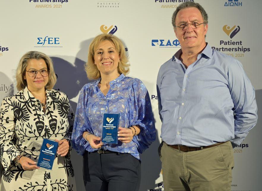 Κορυφαίες διακρίσεις για τη Janssen στα Patient Partnerships Awards 2021