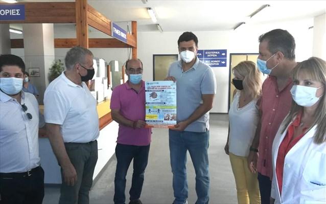 Κικίλιας από την Σάμο: Να εμβολιαστούμε για να είμαστε ελεύθεροι