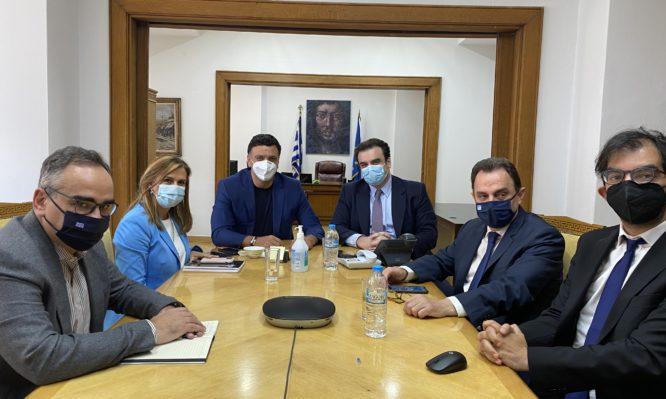 MyHealth: Κικίλιας και Πιερρακάκης παρουσίασαν στο Μαξίμου τον ψηφιακό φάκελο υγείας