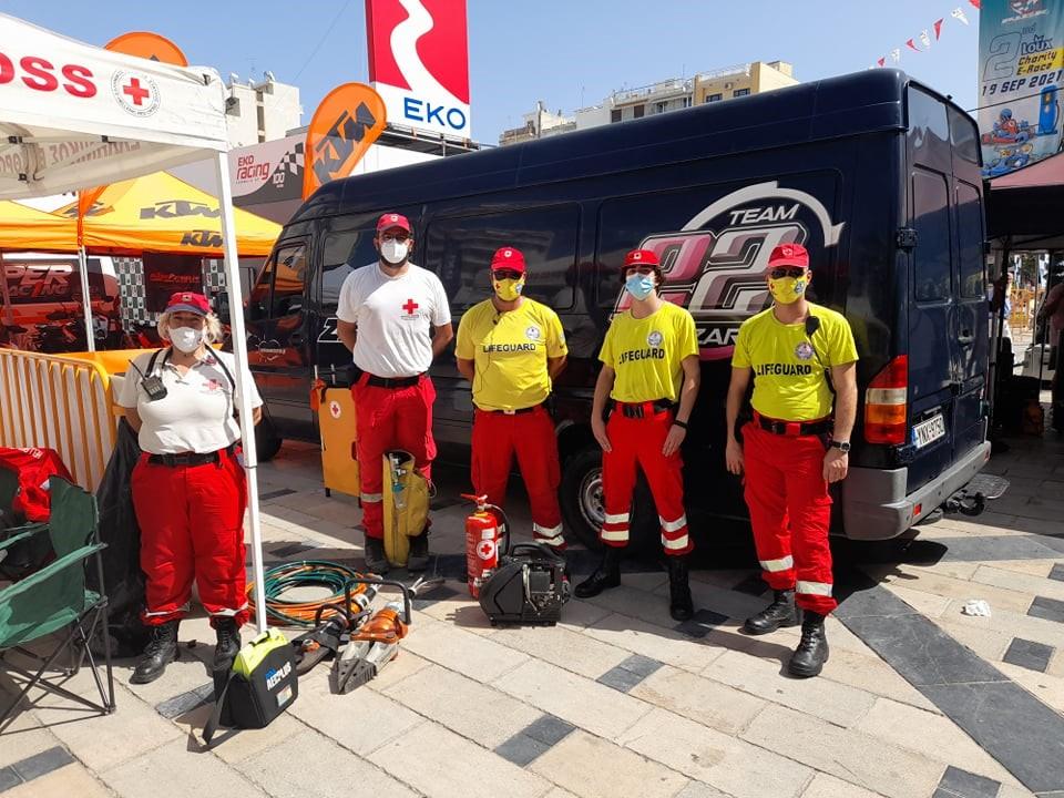 Άμεση επέμβαση Εθελοντών του Ε.Ε.Σ. σε σοβαρό τραυματισμό παιδιού σε αγώνα καρτ στην Πάτρα