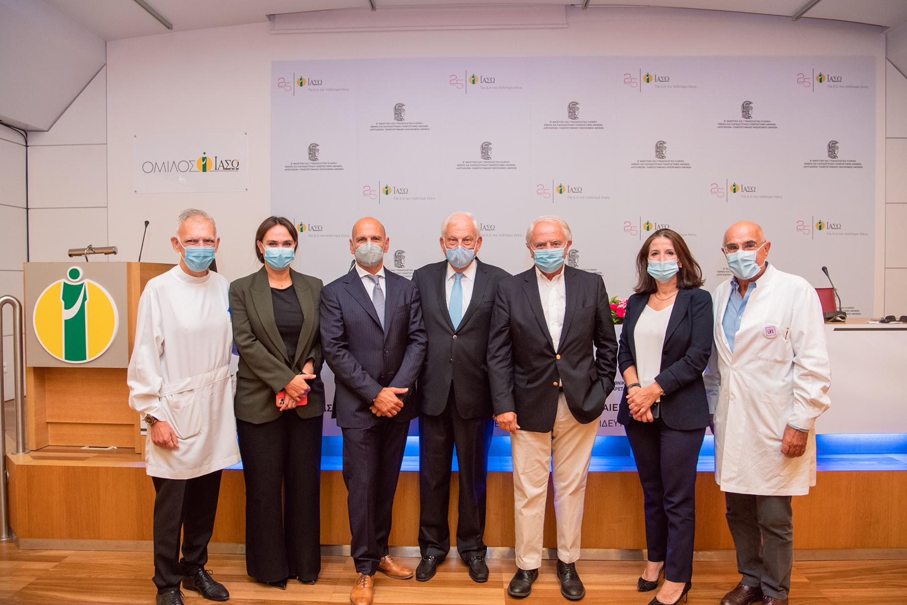 Συνεργασία ΙΑΣΩ-Αρεταίειου: Εκπαίδευση σε πραγματικά χειρουργεία με παράλληλη ζωντανή αναμετάδοση