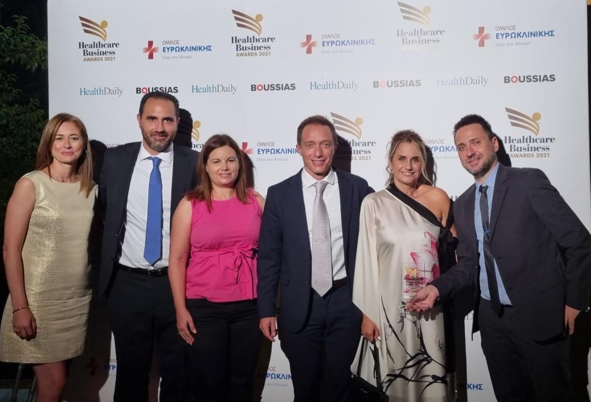 Xρυσή διάκριση για την AstraZeneca στα Healthcare Business Awards 2021 στην κατηγορία «Καινοτομία & Νέες Τεχνολογίες»