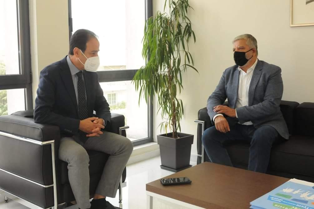 Συνάντηση του Προέδρου του ΙΣΑ Γ. Πατούλη με τον Πρόεδρο του ΙΣΘ Ν. Νίτσα