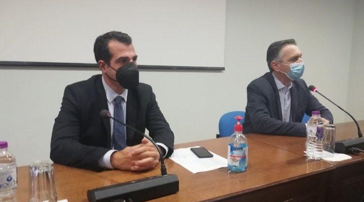 """Πλεύρης στην Κοζάνη: """"Η παρουσία μου δεν συνδέεται με την λήψη περιοριστικών μέτρων"""""""